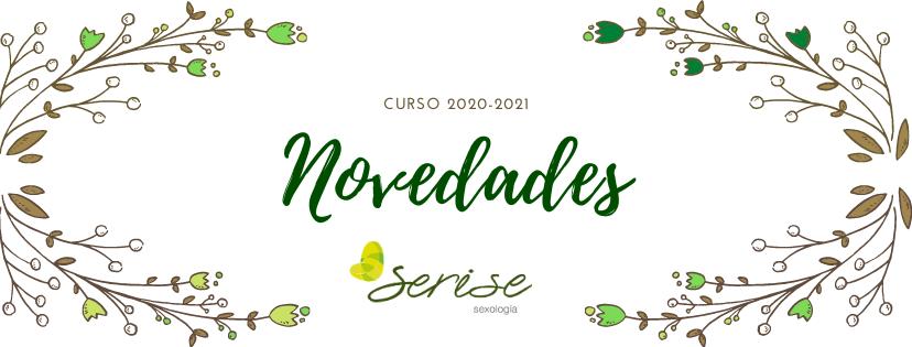 Novedades familias curso 2020-2021 Serise Sexologia